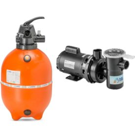 Conjunto Filtro F450P +  Bomba ½ cv 110/220V Monofasica Nautilus