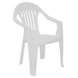 Cadeira Imbé em Polipropileno Branco – Tramontina