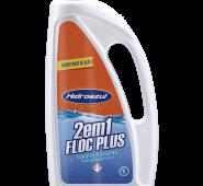 Floc Plus 2 em 1 Hidro Azul